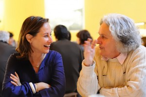 Ségolène Royal et Ariane Mnouchkine