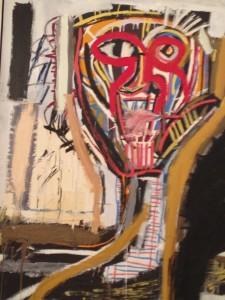 Jean-Michel Basquiat, Sans titre (Prophète I), 1981-1982